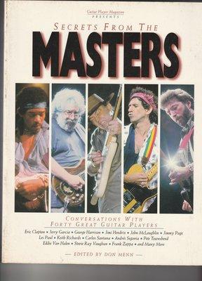 【音樂/最後一本/特價/非二手/英語原文】Secrets from the Masters