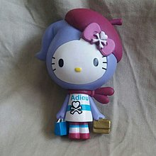 正版 hello kitty x tokidoki figure 細模型