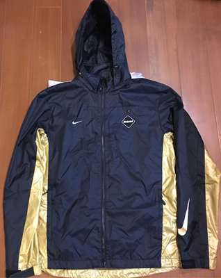 絕版限量FCRB NIKE STORM-FIT warm up 多功能訓練外套 黃金XL 奧運金牌配色 立體浮雕黃金之星
