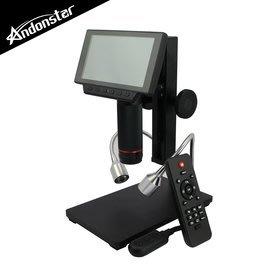 【風雅小舖】【Andonstar ADSM302 5吋螢幕/USB/HDMI輸出三用數位顯微鏡-最高80倍放大