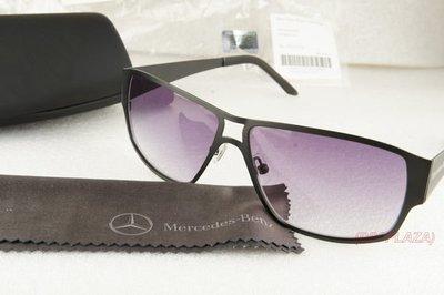 【DIY PLAZA】Mercedes-Benz 賓士 原廠 太陽眼鏡 蔡司鏡片 UV400 (原廠精品)  黑色金屬版 現貨喔