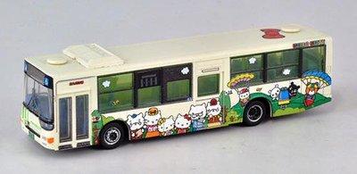 TOMYTEC N規 300434 北九州市交通局ハローキティ バス1号車(ファミリーver.)