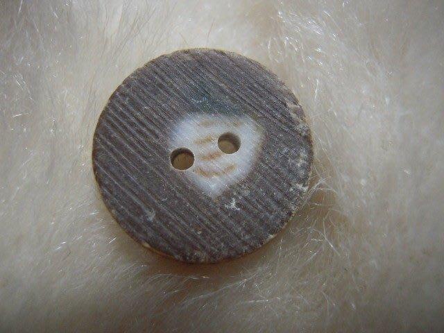 ※布箱子※ 縫紉拼布手作配件~扣子.鈕扣.釦子(DT670)~雙孔~20mm~剩最後1個