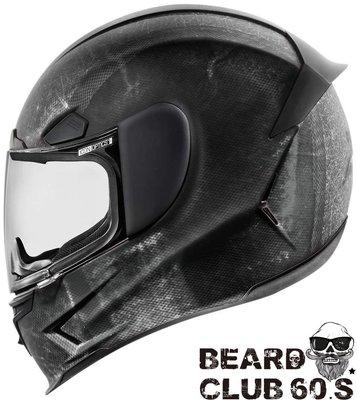 ♛大鬍子俱樂部♛ Icon® Airframe Pro Construct Black 美國 街頭 重機 全罩 安全帽