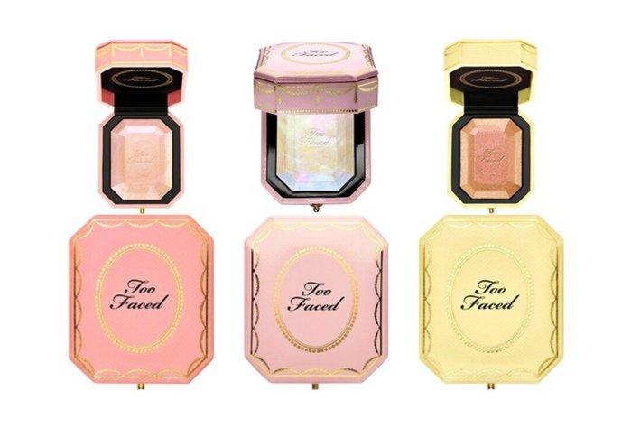 天使熊雜貨小舖~Too Faced 鑽石光打亮珠寶盒  現貨:Fancy Pink Diamond(夢幻粉紅鑽)全新現貨