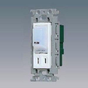 【日電行】日本原裝國際牌 Panasonic 插座 單插座附照明燈WTF40014W