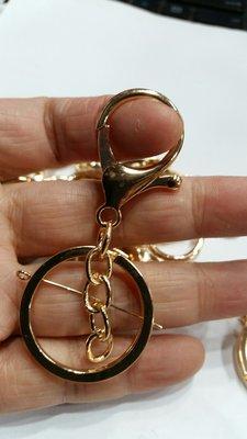 一個8元''p''''材料王批發-帶龍蝦扣鑰匙圈(4個圈)
