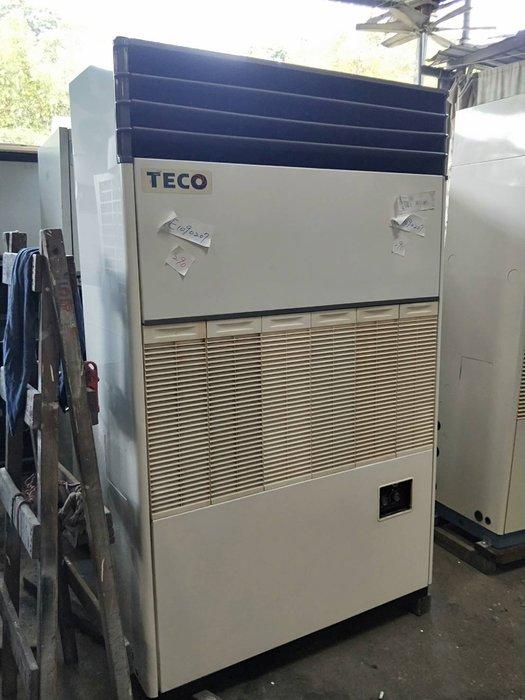 (大台北)中古東元10RT水冷箱型機3φ220V(編號:TE1090207)~冷氣空調拆除回收買賣出租~