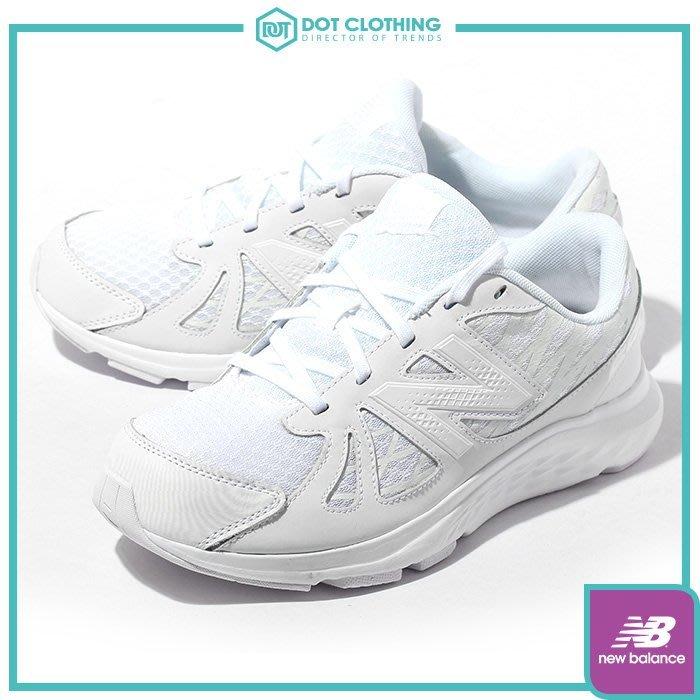 DOT聚點 New Balance KJ690 中童 全白 花紋 鞋 復古鞋 NB vaz