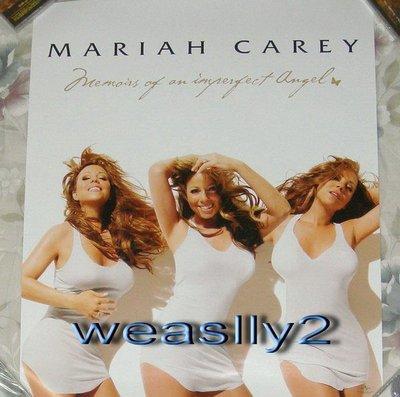 瑪麗亞凱莉Mariah Carey不完美天使Memoirs of an Imperfect Angel【原版海報】