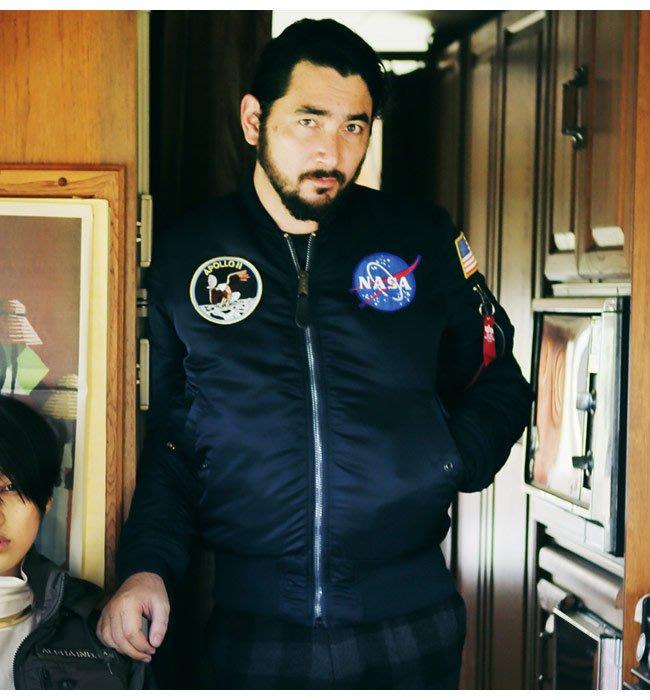 ☆AirRoom☆【現貨】Alpha Ma-1 flight jacket NASA 太空 星際 外套 兩色 日版