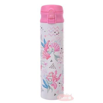 日本迪士尼 小美人魚 保溫保冷瓶 不鏽鋼保溫杯 400ml 。現貨【Fun心購】