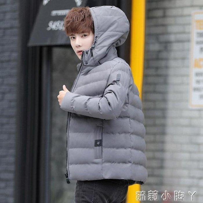棉衣羽絨外套男士加厚冬季新款韓版潮流秋冬帥氣短款棉服男款igo 蘿莉小腳ㄚ