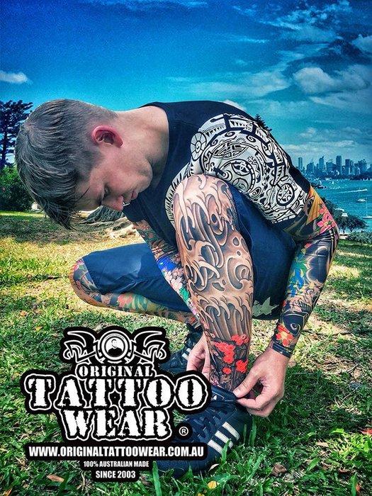 ORIGINAL TATTOO WEAR澳洲原創紋身腿套 壓縮腿套 運動腿套 籃球腿套 透氣高防曬