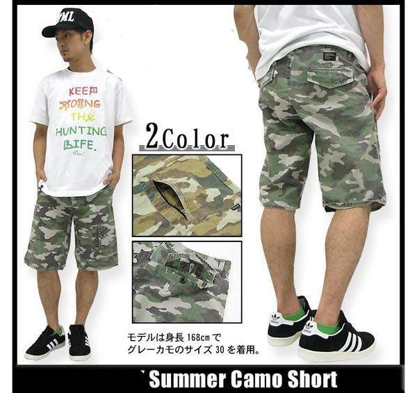 【 超搶手 】全新正品 2013 S/S 夏季 STUSSY SUMMER CAMO SHORT 迷彩工作 短褲 兩色 W30 W32 W34