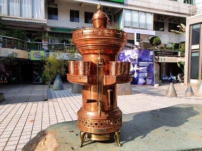 { Ruminant 慕名古物 } H.T.LACY&CO.美國60年代紅銅巨大飲品壺杯組