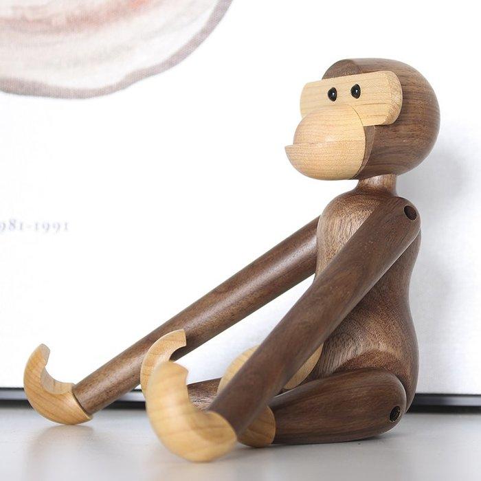 [現貨 復刻版] 丹麥 Kay Bojesen 經典 胡桃木 猴子 20公分 木頭 1951 北歐設計 wegner 盒