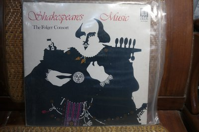 【大目標LP精品】Shakespare's Music The Folger Consort