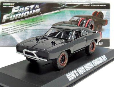【MASH】[現貨特價] Greenlight 1/43 Dodge Charger R/T offroad 玩命關頭
