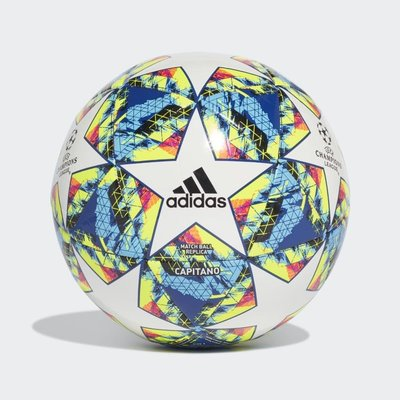 Adidas UCL FINALE 19 CAPITANO BALL 五號足球 彩色DY2553