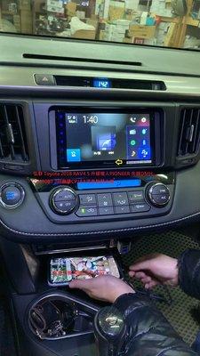 弘群 Toyota 2018 RAV4.5 升級植入PIONEER 先鋒DMH-Z5350BT 7吋無碟CP/AA汽車智