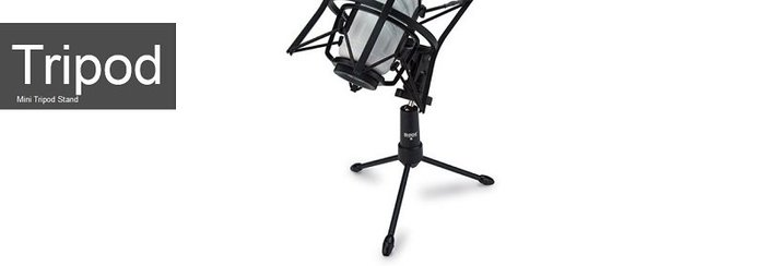 造韻樂器音響- JU-MUSIC - 全新 RODE Tripod 迷你 麥克風 三腳架 可折疊 可360度旋轉