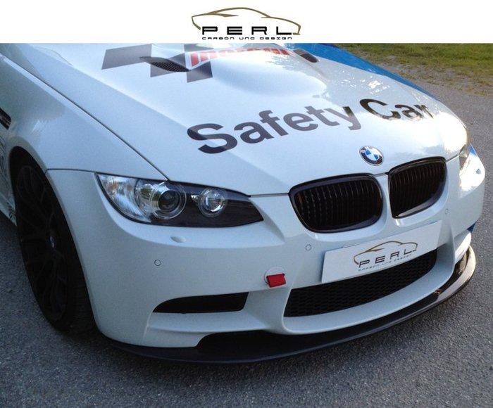【樂駒】Perl Carbon Design BMW 3er E90 E92 E93 M3 碳纖維 前下擾流 前下巴
