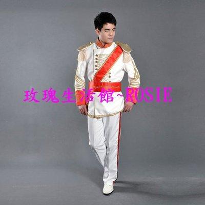 【演出show】~ ~歐洲皇室軍服,軍服 公爵服,王儲服,王子服 ,白