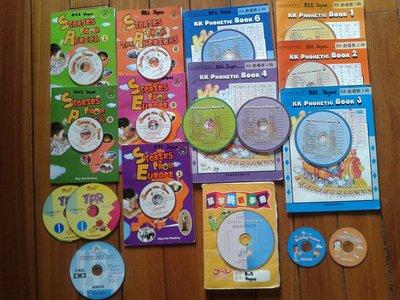 佳音英語Joy English 雙語故事,英語文能力檢定(聽力/閱讀/寫作) 書本共6冊,CD共10片