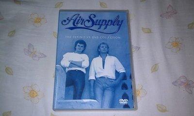 【李歐的音樂】近全新ARISTA唱片2001年 AIR SUPPLY THE DEFINITIVE DVD COLLECTION