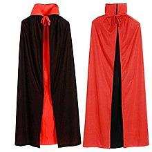 萬聖節產品 兒童 成人 紅黑雙面連帽死神披風斗篷 cosplay服飾道具 萬聖節服飾『御茗源佳』