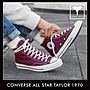 CONVERSE ALL STAR TAYLOR 1970 高筒 酒紅色...