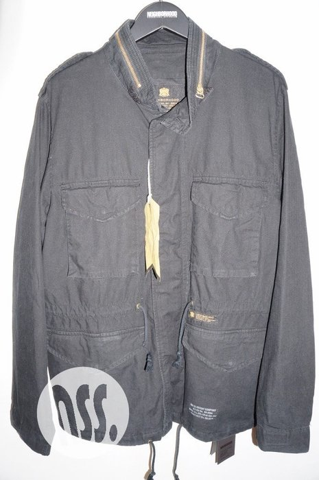 特價「NSS』NEIGHBORHOOD 16 M-65 C JKT 軍裝 外套 M65 黑 L