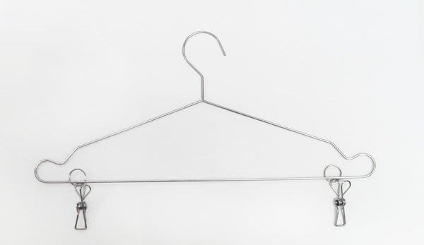 ☆成志金屬☆ 不銹鋼曬衣吊衣架附夾款,好夾好勾又好掛;304不鏽鋼材質常保如新