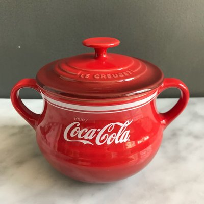 le creuset Coca Cola Bean Pot