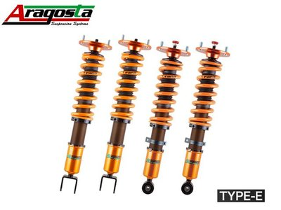 【Power Parts】ARAGOSTA TYPE-E 避震器組 BMW 1 SERIES F20 2012-