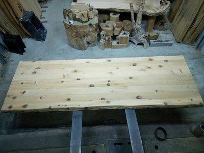 台灣檜木/黃檜拼接桌板 辦公桌/書桌/鐵件搭配使用