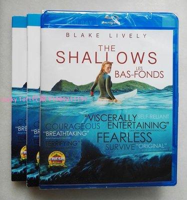 Lucky 1of1收藏正版bd正版藍光碟 The Shallows 鯊灘  絕鯊島 加版 全區中字