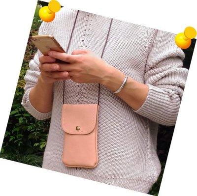 【GooMea】3免運 Realme 5 6.5吋 5 pro 6.3吋單層斜背 皮套 掛脖 掛頸 手機套 保護套 粉白