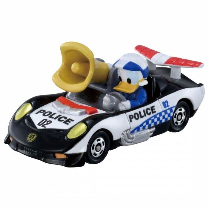 =海神坊=日本原裝空運 TAKARA TOMY 多美小汽車 迪士尼 DS-02 米奇妙妙保衛隊 唐老鴨 合金模型車