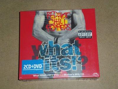嗆辣紅椒合唱團Red Hot Chili Peppers-限量原裝進口2CD+DVD精美盒裝-全新未拆