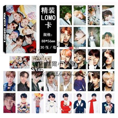 【首爾小情歌】BTS 防彈少年團 最新 集體款 團體款 V 田柾國 JIMIN LOMO 30張卡片 小卡組 #16