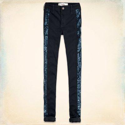 【天普小棧】HOLLISTER Ultimate High Rise Jeggings高腰修身顯瘦內搭窄管褲23-28腰