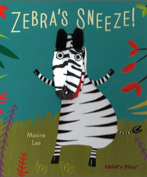*小貝比的家* ZEBRA'S SNEEZE/精裝/3~6歲/手偶書
