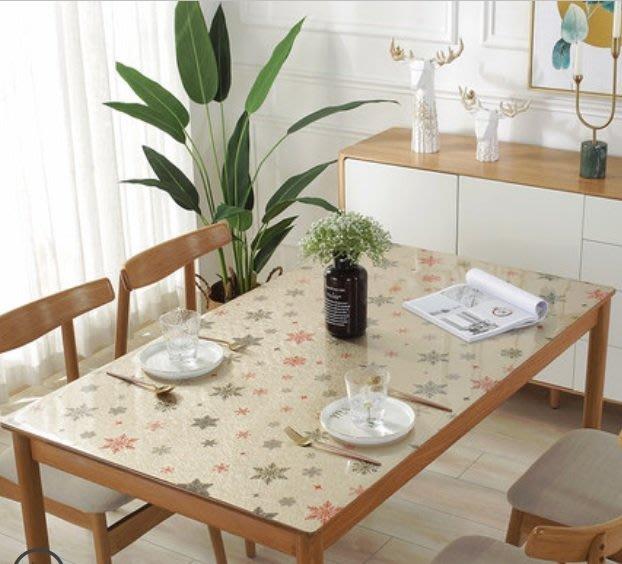 小妮子的家@PVC水晶茶几.防水.防油.耐高溫軟玻璃桌墊/雪花漫天/~沐
