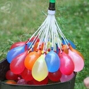 15包免運費【111顆網路最低】天天出貨 水球 水戰 夏天海灘神奇免綁灌水球 快速灌水水球 水球大戰 魔術水球 活動整人
