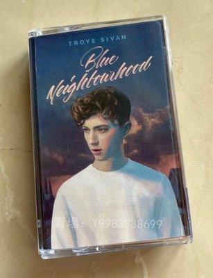 錄音帶 CD老歌 戳爺Troye Sivan Blue Neighbourhood藍色街區 全新未拆