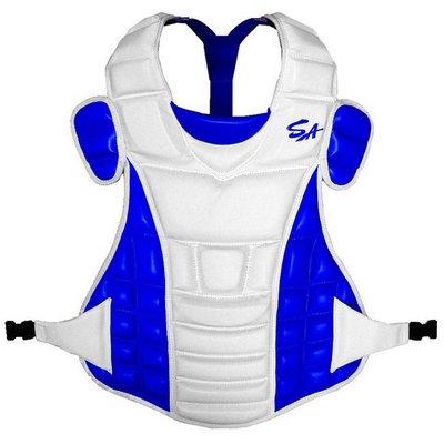 野球人生---SA PRO職業級捕手護胸 CP-PROD 白/寶藍