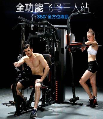 綜合訓練器家用多功能大型飛鳥龍門架大型力量組合健身器材