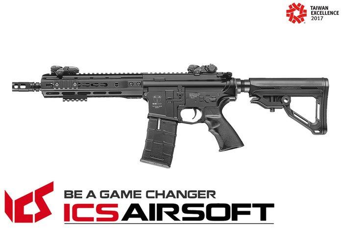 【翔準軍品AOG】ICS CXP-UK1 戰術標準版 (後出線)(黑) EBB Keymod M-Lok 全金屬 生存遊